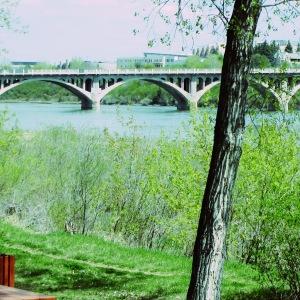 The Mighty Saskatchewan river