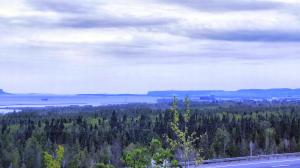 Thunder Bay in the rear view mirror