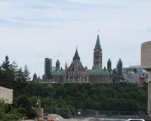 Parliament from Gatineau