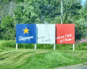 Acadian signage