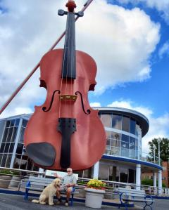 Large fiddle