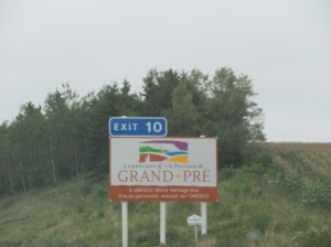 Leaving Digby to Minas Basin area 141