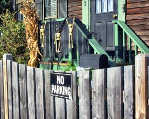 No Parking ever!