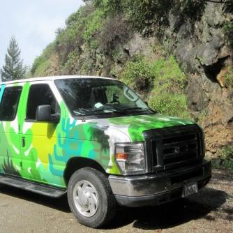 Hippy van owner/clerk