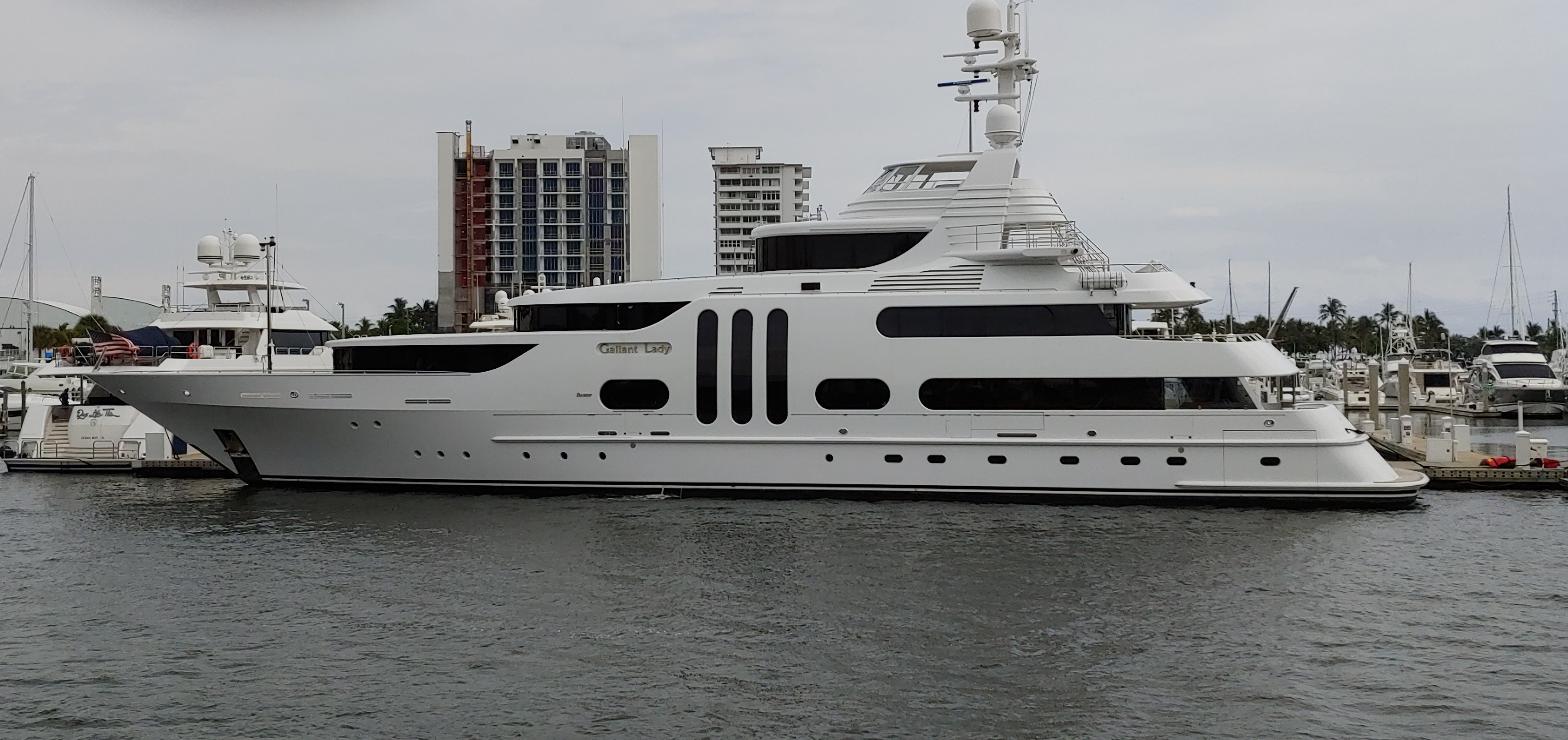 Yacht styles of the rich and famous